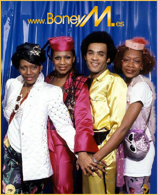 Boney M And Bobby Farrell With The School Rebels Happy Song Club Mix