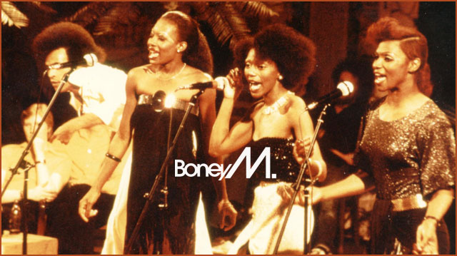 BONEY M. - DADDY COOL (MUSIKLADEN 18.09.1976)